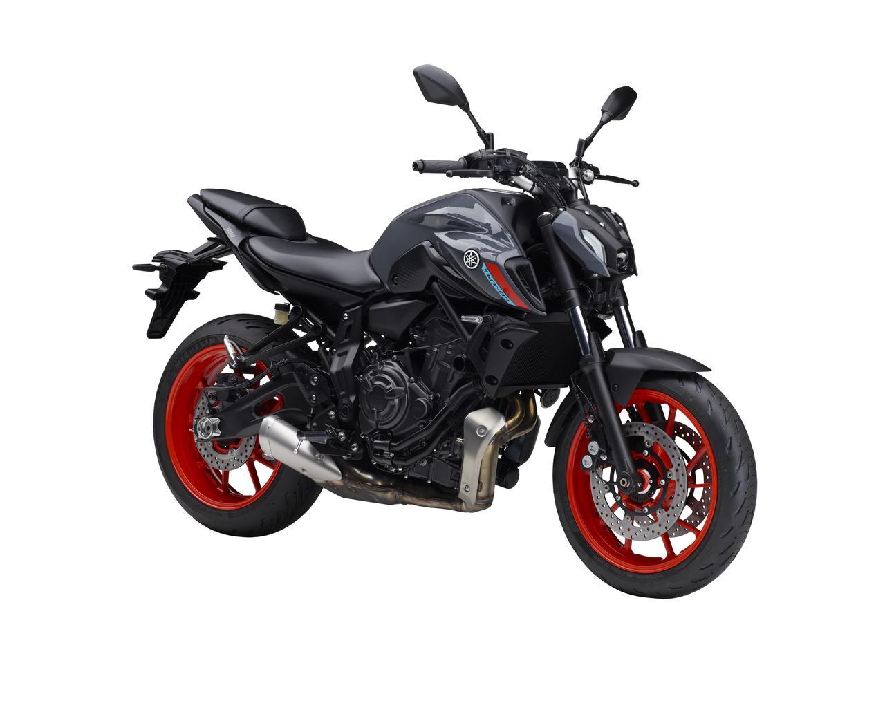 Images : 11番目の画像 - 【写真12枚】ヤマハ「MT-07 ABS」国内仕様・2021年モデル - webオートバイ