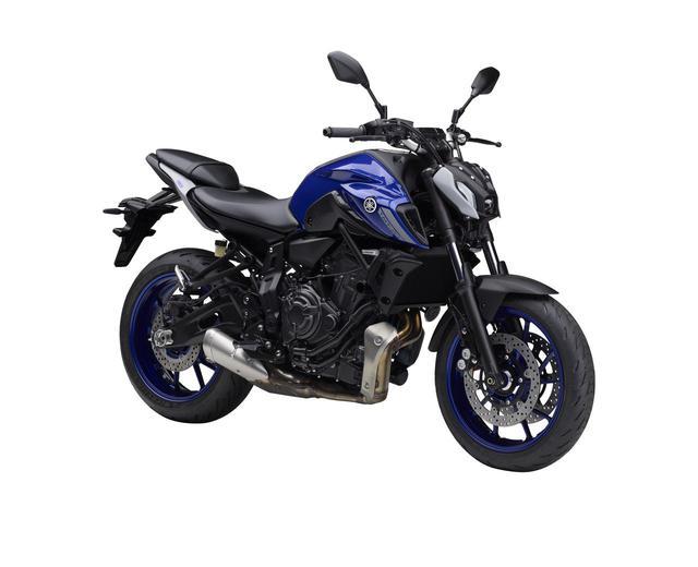 画像2: ヤマハが「MT-07」の2021年モデルを発売! 新デザイン採用・2気筒エンジンの熟成・ポジション変更も図るマイナーチェンジ