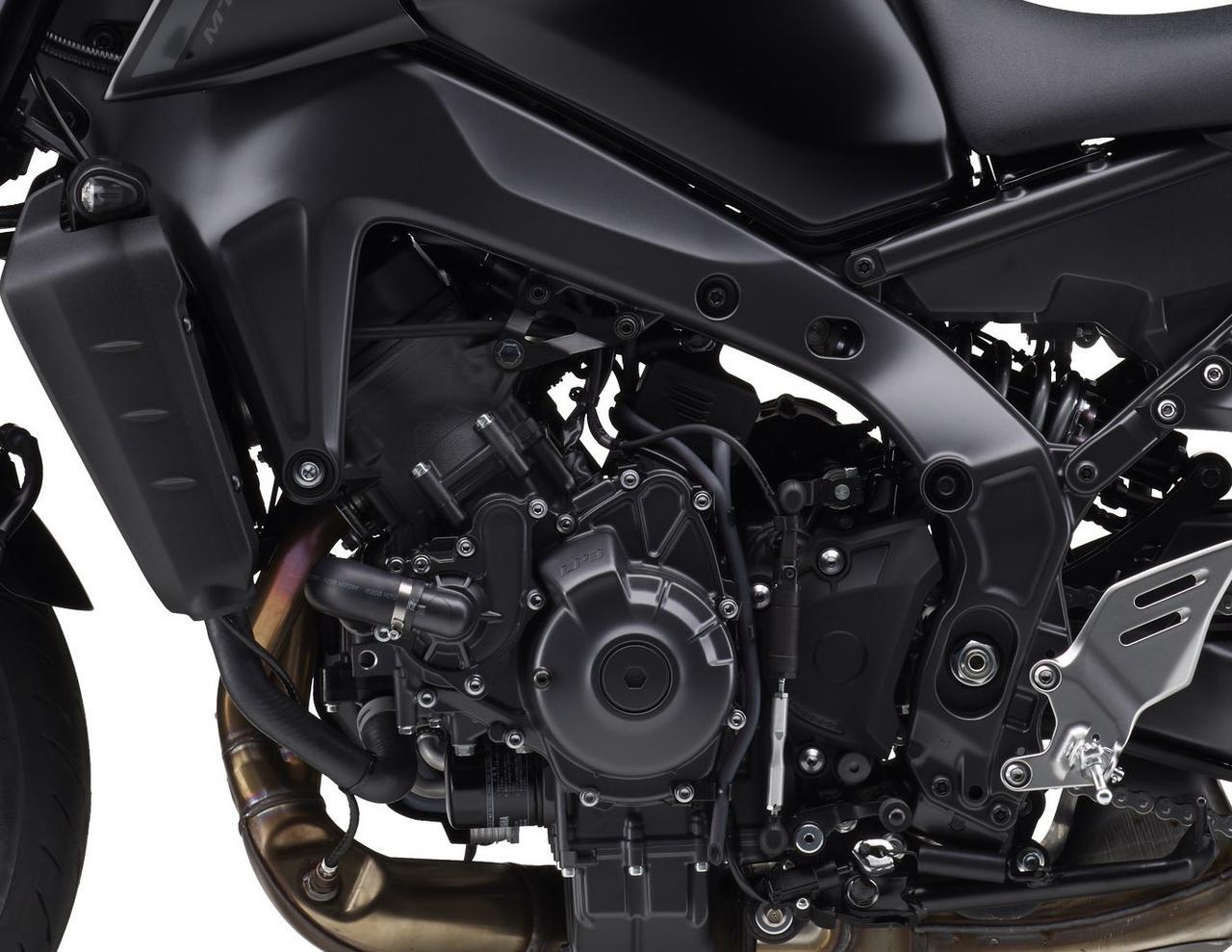 画像2: ヤマハ新型「MT-09 ABS」シリーズの特徴
