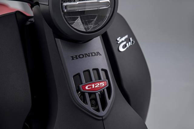 画像8: ホンダ「スーパーカブ125」(欧州仕様・2022年モデル)の特徴