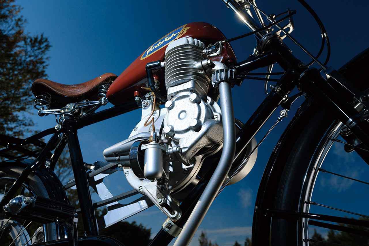 画像2: ホンダ初の市販製品「モデルA」(A型)とは? 第二次世界大戦後の1947年に発売された自転車用補助エンジン