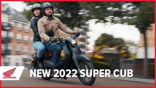 画像: 【動画】New 2022 Honda Super Cub www.youtube.com