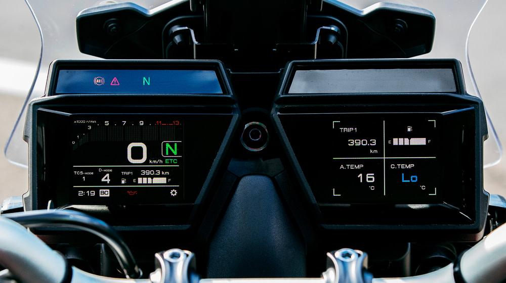 画像5: ヤマハ「トレーサー9 GT ABS」の特徴