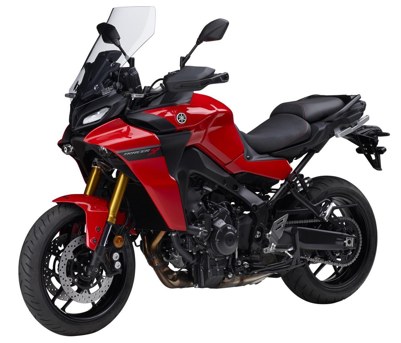 画像1: 【新型情報】ヤマハ「トレーサー9 GT」登場 - webオートバイ