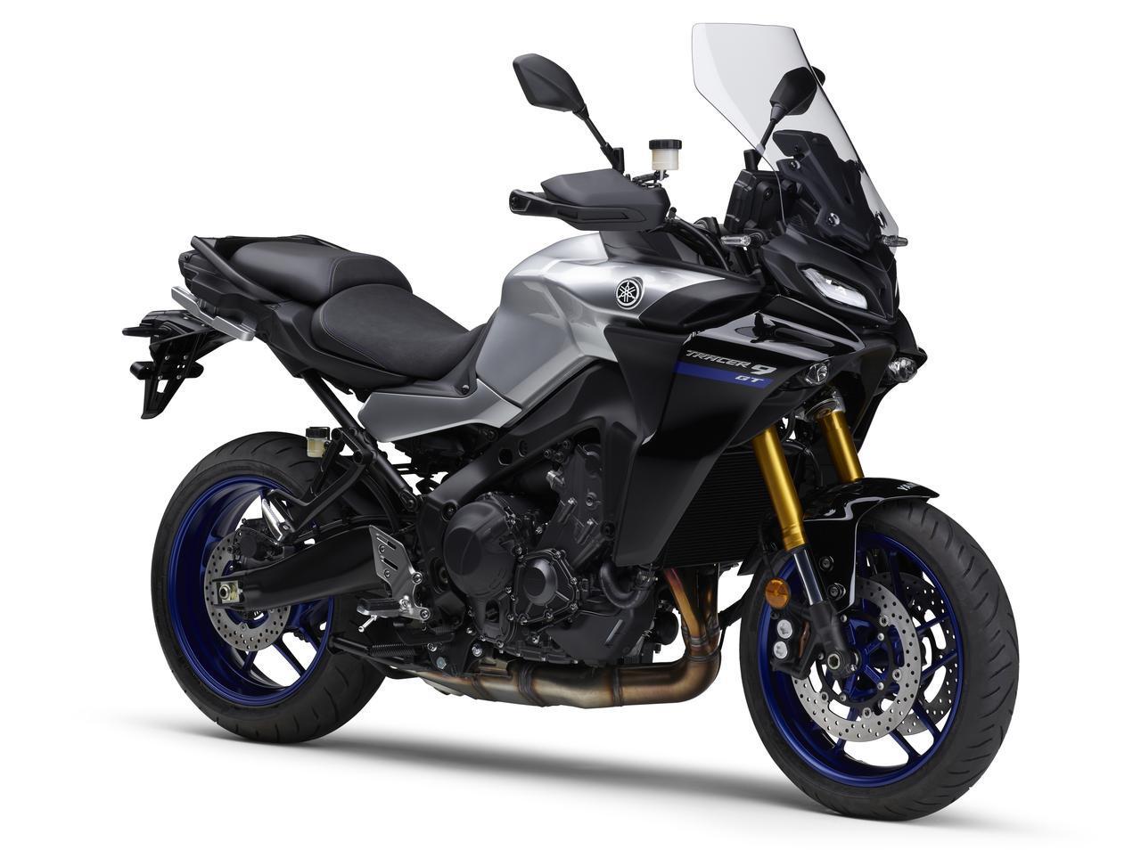 画像: YAMAHA TRACER9 GT ABS 2021年モデル 総排気量:888cc エンジン形式:水冷4ストDOHC4バルブ並列3気筒 シート高:810/825mm 車両重量:220kg