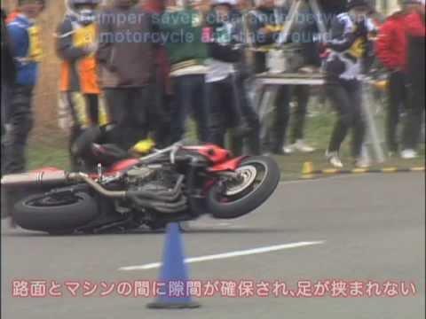 画像: ジムカーナバンパーの威力 MotoGymkhana Bumper www.youtube.com