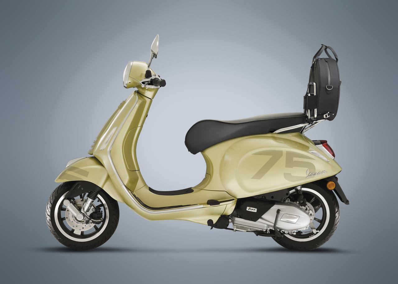 画像: ベスパ「GTS 75th」&「プリマベーラ 75th」登場!ベスパ誕生75周年を祝うスペシャルバージョン - webオートバイ