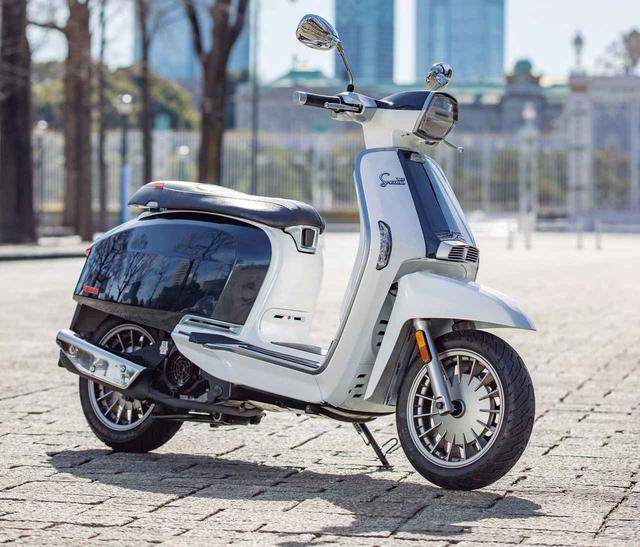 画像: 【インプレ】ランブレッタ「V125スペシャル フレックス」(2021年) - webオートバイ