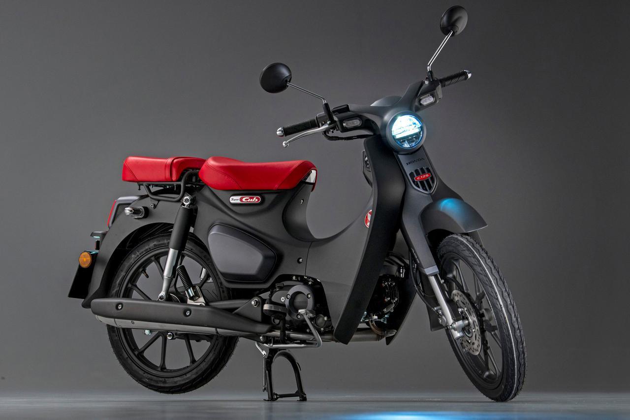 画像: 欧州ではホンダ「スーパーカブ125」の2022年モデルも登場 - webオートバイ