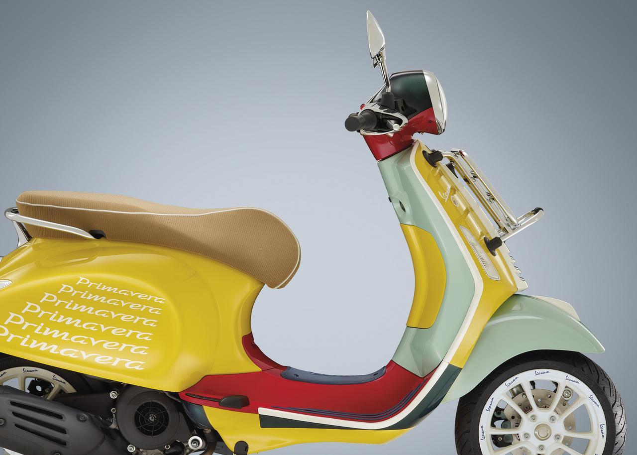 画像: 詳しくはこちら|ベスパ「プリマベーラ ショーン・ワザースプーン 125」 - webオートバイ