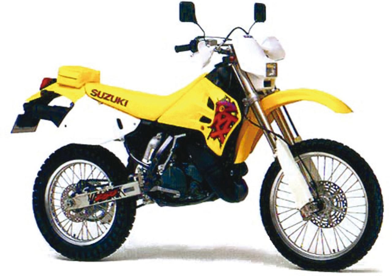 画像: EDレーサーをそのまま公道仕様に【SUZUKI RMX250S】 - webオートバイ