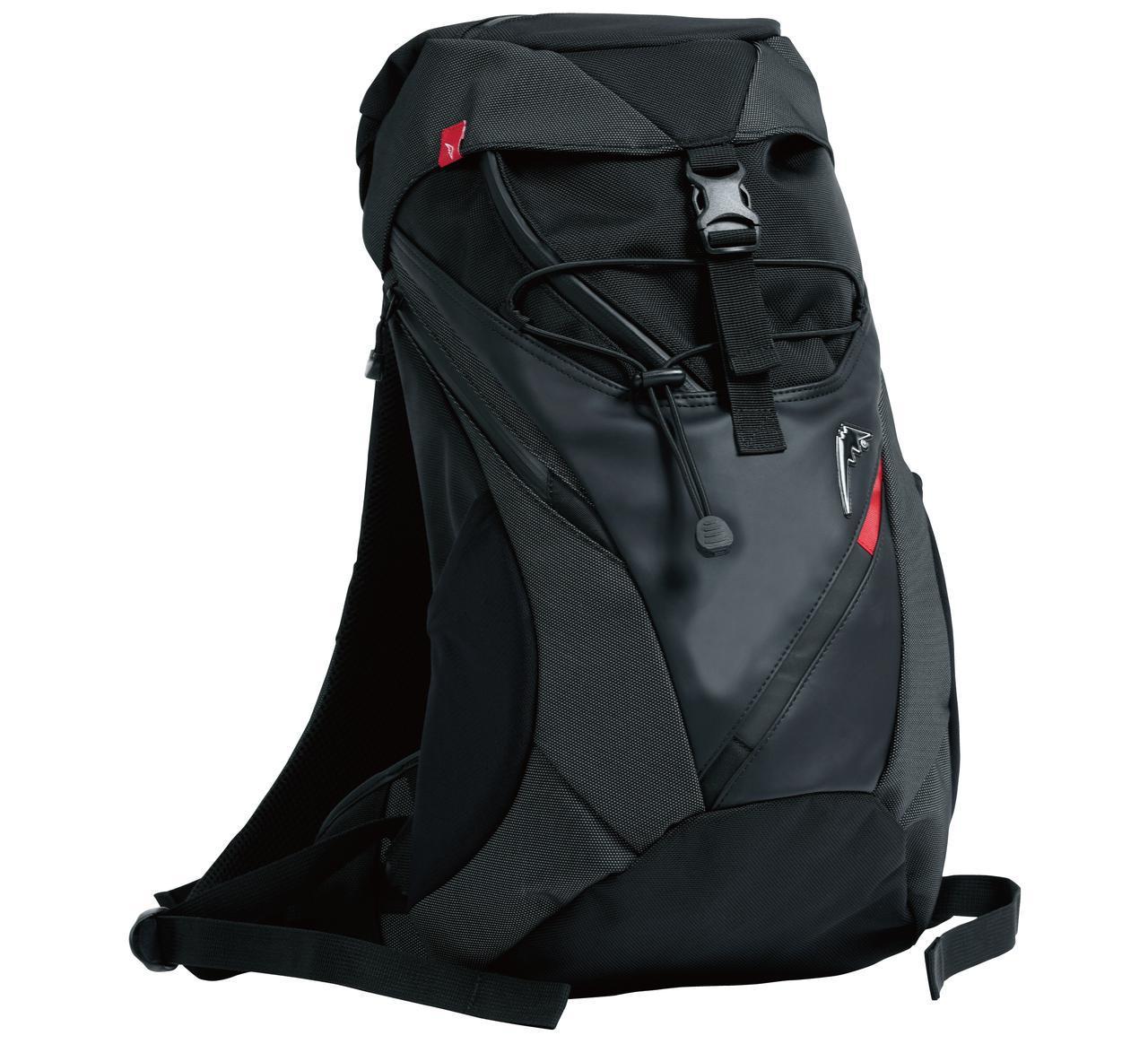 画像: KUSHITANI K-3587 BACK PACK 容量:約17L サイズ:H500×250×200mm 税込価格:17,600円