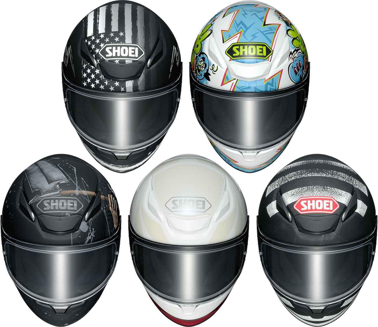 画像: SHOEIの新型ヘルメット「Z-8」グラフィックモデル・まとめ - webオートバイ