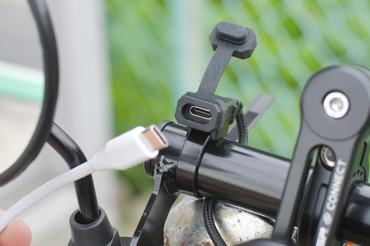 画像4: これからのUSB充電はTYPE-C PDに決まり!PD充電対応のバイク用アイテムをチェックチェック。〈若林浩志のスーパー・カブカブ・ダイアリーズ Vol.96〉