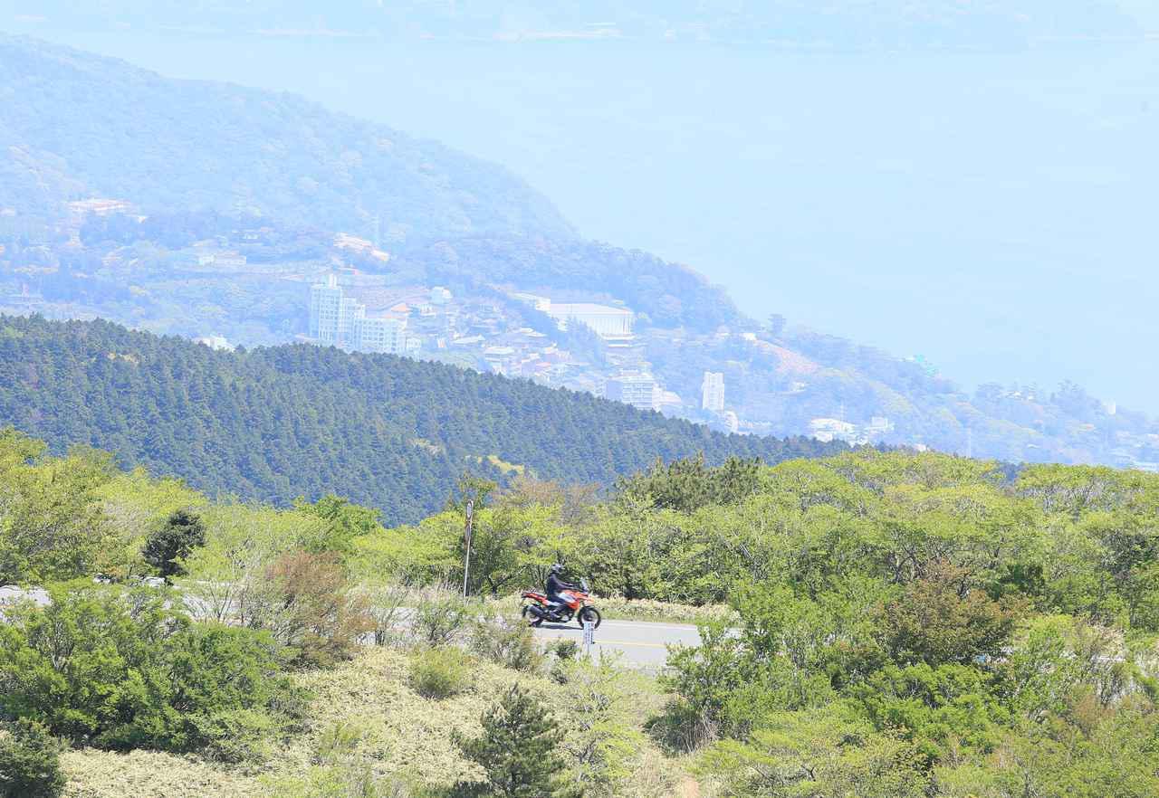 画像2: 東京五輪の開催時に、迂回路として伊豆スカイラインの通行を推奨