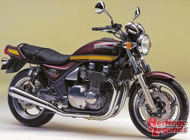 ゼファー1100/750の歴代モデルを紹介05