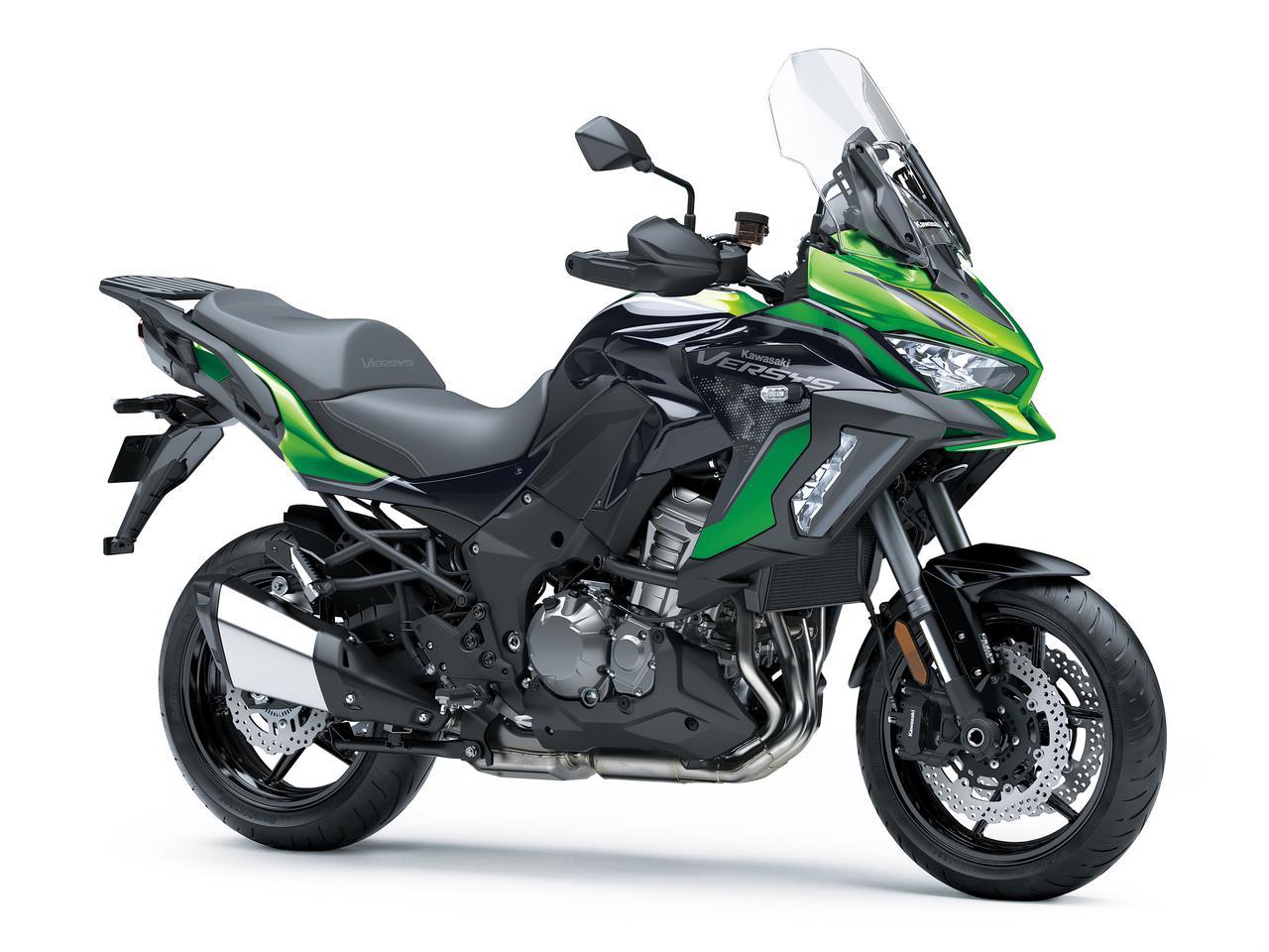 画像: Kawasaki VERSYS 1000 SE 2021年モデル 総排気量:1043cc エンジン形式:水冷4ストDOHC4バルブ並列4気筒 シート高:820mm 車両重量:257kg 発売日:2021年7月16日(金) 税込価格:199万1000円