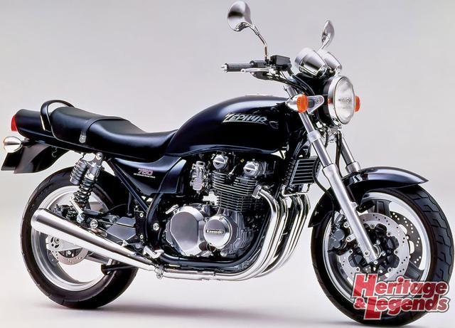 ゼファー1100/750の歴代モデルを紹介02