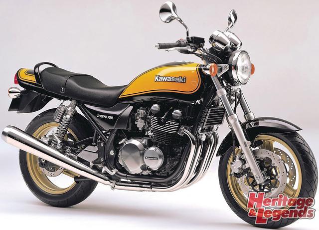 ゼファー1100/750の歴代モデルを紹介06