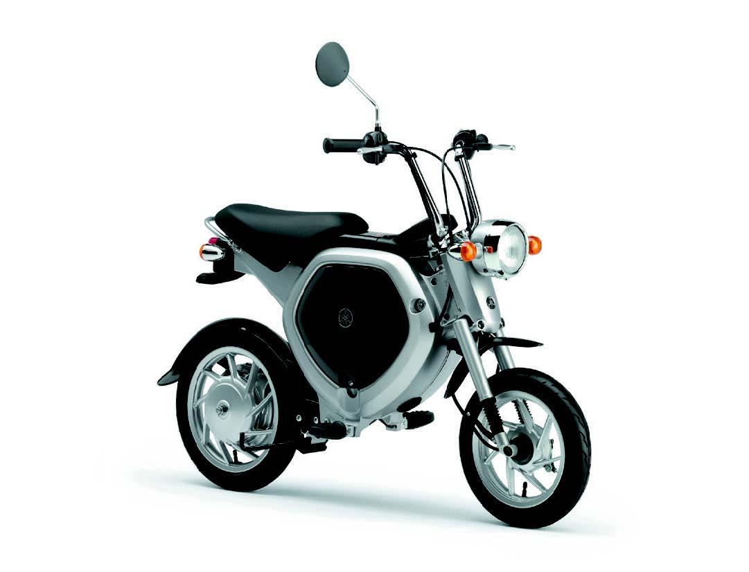 画像: 世界の電動2輪車図鑑:6 ヤマハEC-02 - LAWRENCE - Motorcycle x Cars + α = Your Life.