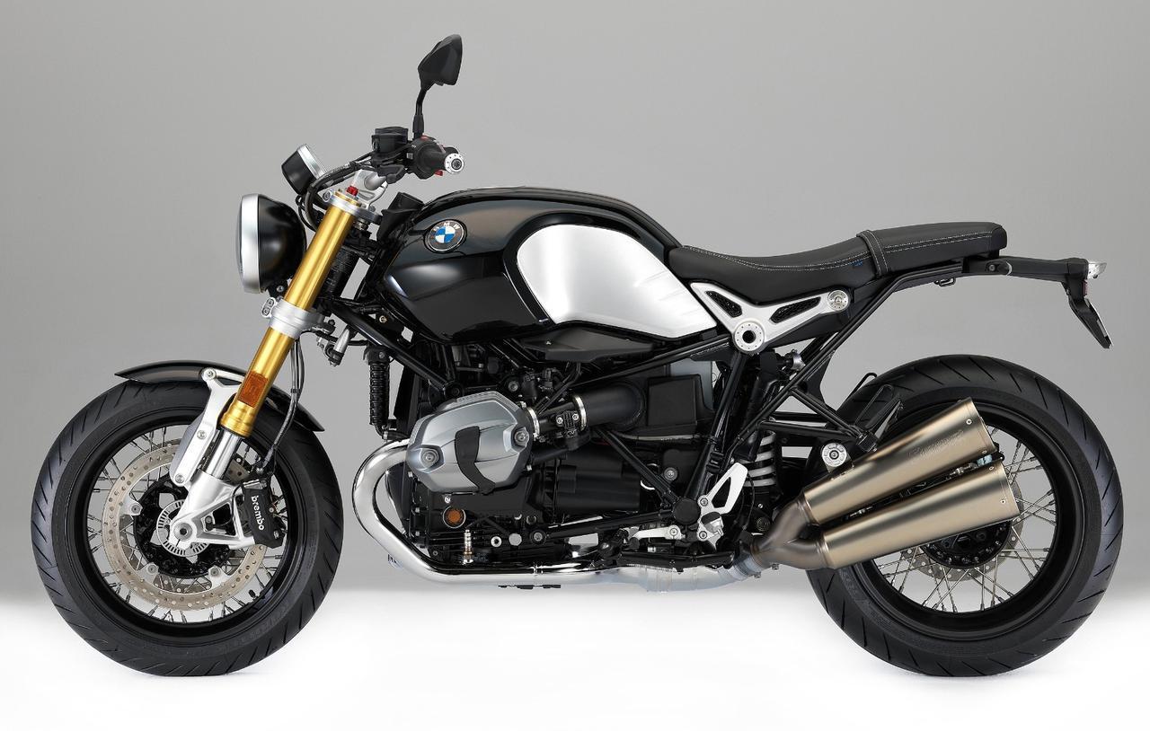 画像: BMW R nineT 総排気量:1169cc エンジン形式:空油冷4ストDOHC4バルブ水平対向2気筒 シート高:805mm 車両重量:224kg 税込価格:224万円~