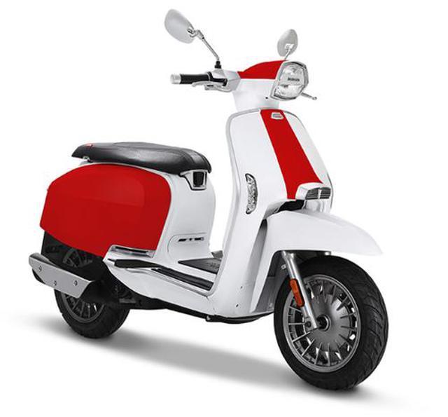 画像: 【人気カラー投票・足つき・各部解説】ランブレッタ「V125スペシャル」 - webオートバイ