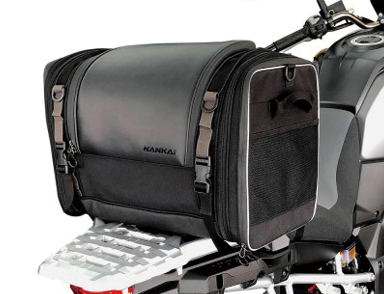 画像: BA-308 コンフォートシートバッグ 税込価格:1万7380円 インナーバッグは防水仕様 [容量]  約52~67L [サイズ]H350×W500~650×D330(mm) [付属品] 装着用H型ベルト、固定用補助ベルト(×4)、ショルダーベルト