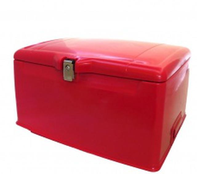 画像: 集配用大型キャリーボックス[赤]