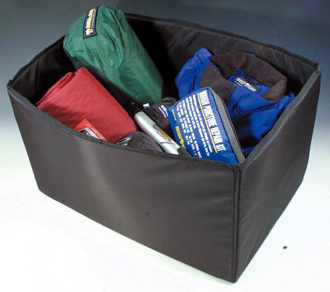 画像: インナーに着脱式のフレームを備え、収納物をしっかり守ってくれる。