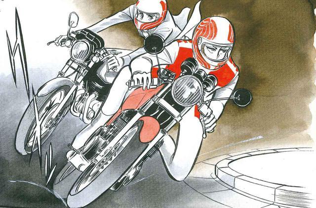 画像: 漫画『ふたり鷹』にみる80年代の名車たち/カワサキ「Z400FX」編 - webオートバイ