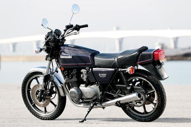 画像: カワサキ「Z400FX」の特徴