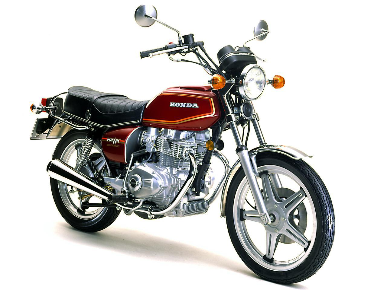 画像: 70年代のAT車 ホンダ「HAWK CB400T-AT〈HONDA MATIC〉」って知ってる? - webオートバイ