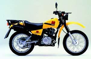 画像: 国内で1985年に発売されたヤマハ「AG200」 www.autoby.jp