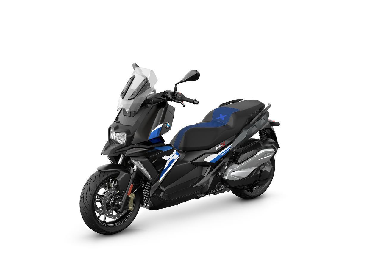 画像1: BMWが新型「C400X」「C400GT」を2021年7月16日に発売! モデルチェンジで完成度を高めた350ccスクーター