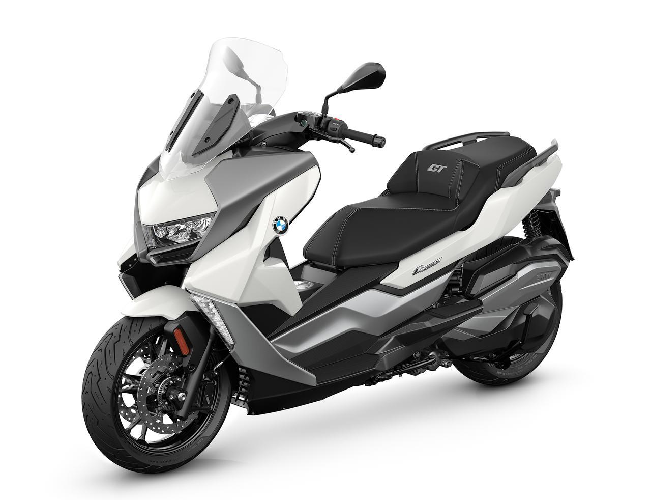 画像: BMW C 400 GT 2021年モデル 総排気量:350cc エンジン形式:水冷4ストOHC4バルブ単気筒 シート高:775mm 車両重量:214kg 発売日:2021年7月16日(金) 税込価格:93万円~