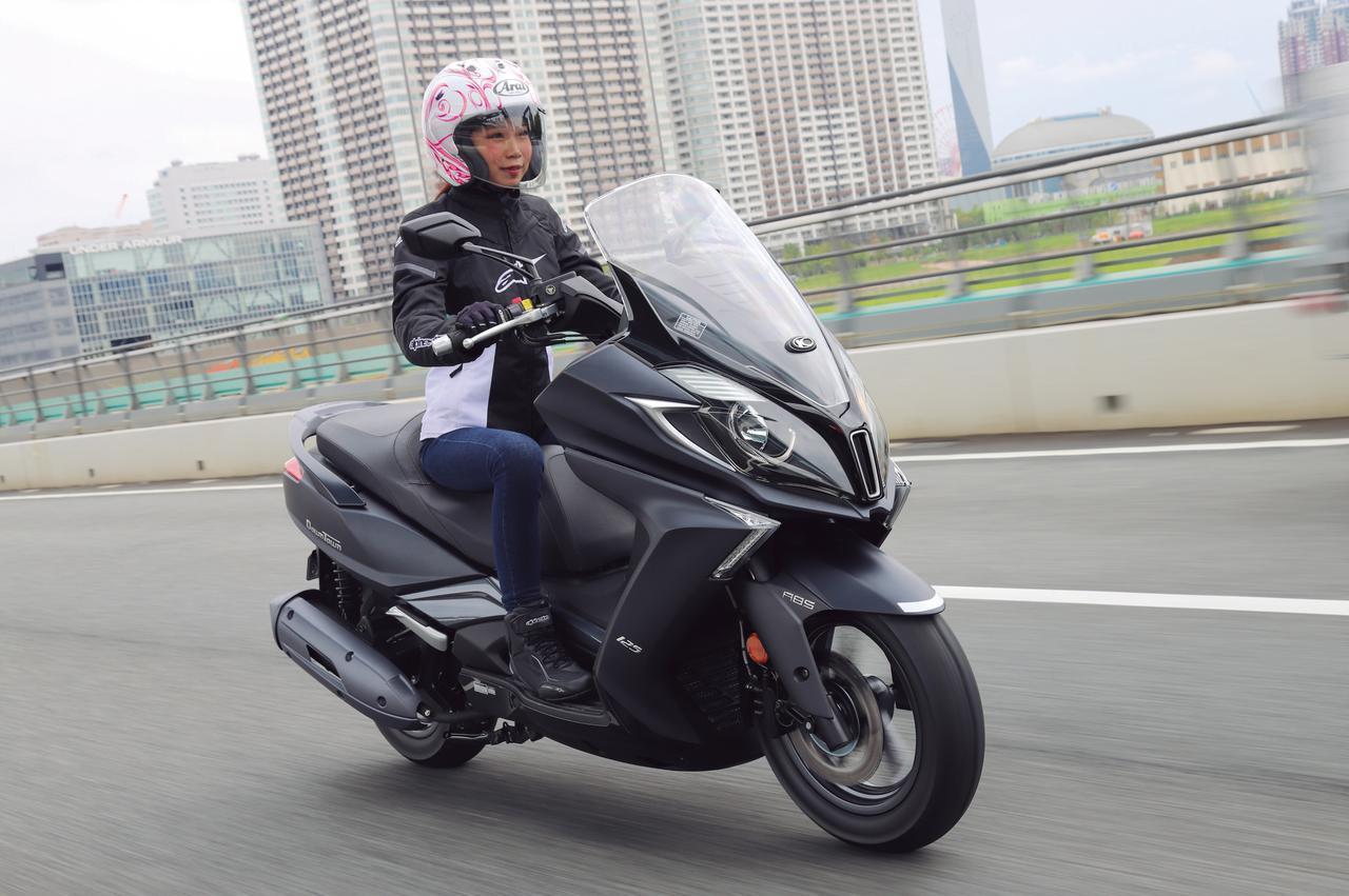 画像: 【写真14枚】キムコ「ダウンタウン125i ABS」 - webオートバイ
