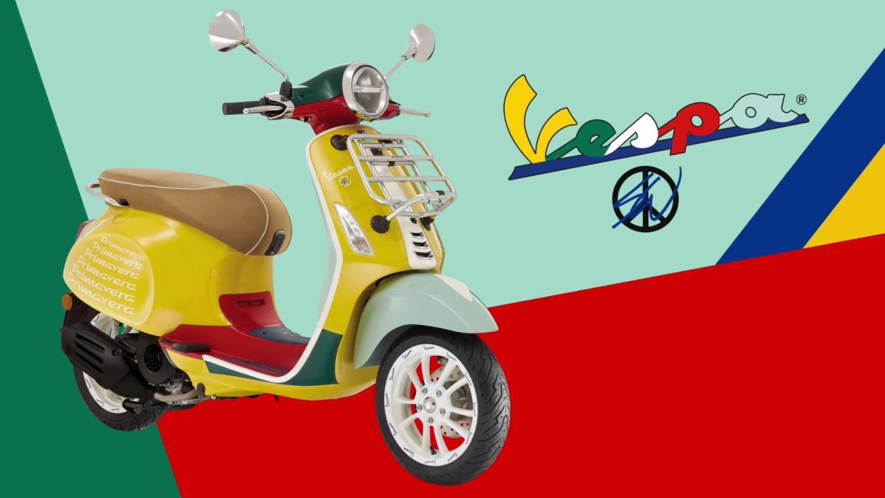 画像: 【動画】NEW Vespa Primavera SEAN WOTHERSPOON 125 登場 | ベスパ プリマベーラ ショーン ワザースプーンとコラボした特別限定車 www.youtube.com