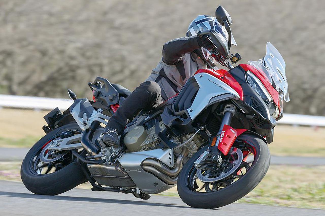 画像: 【インプレ】ドゥカティ「ムルティストラーダ V4S」(2021年) - webオートバイ