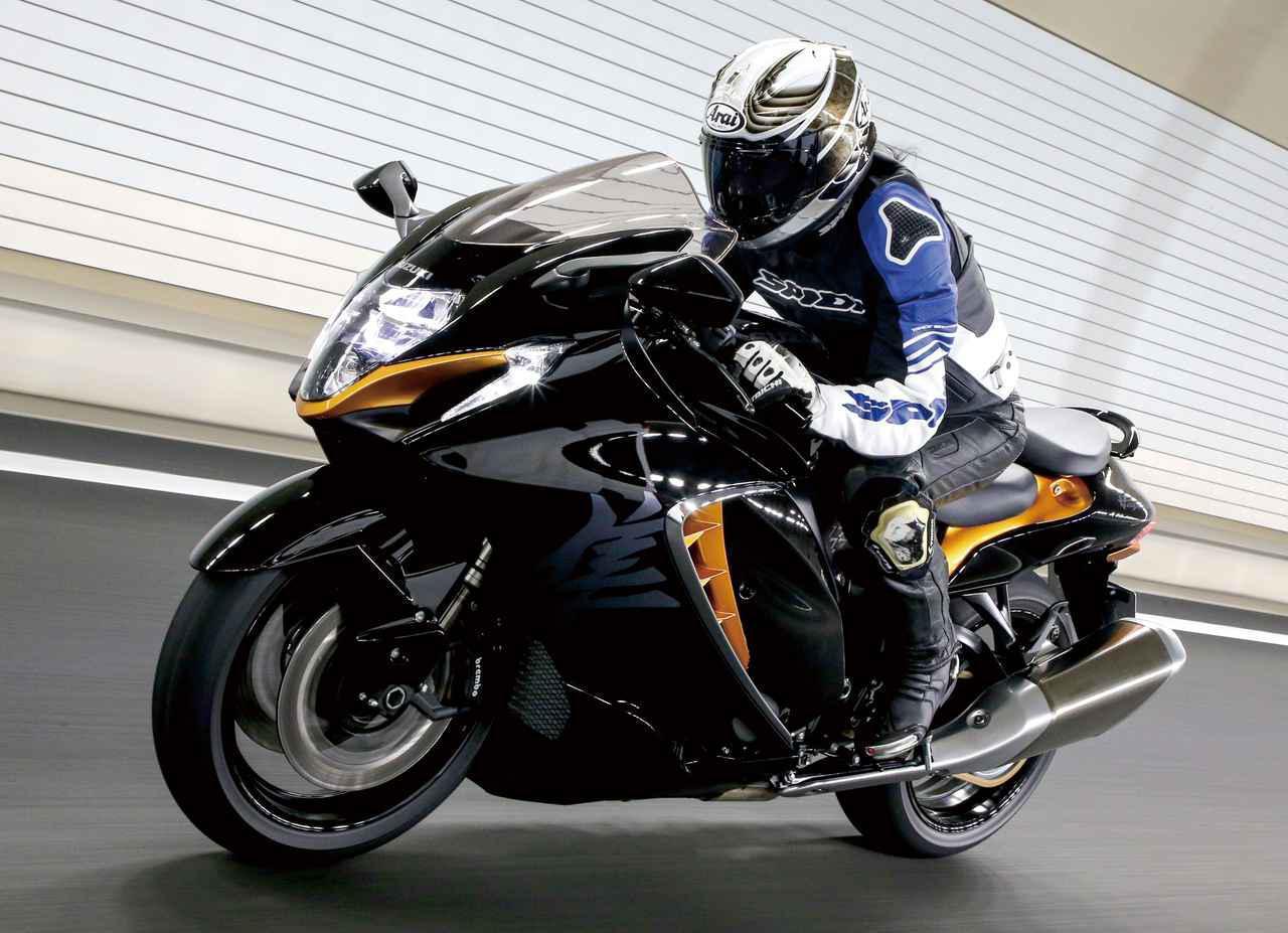 画像1: 【インプレ】スズキ新型「ハヤブサ」(2021年) - webオートバイ
