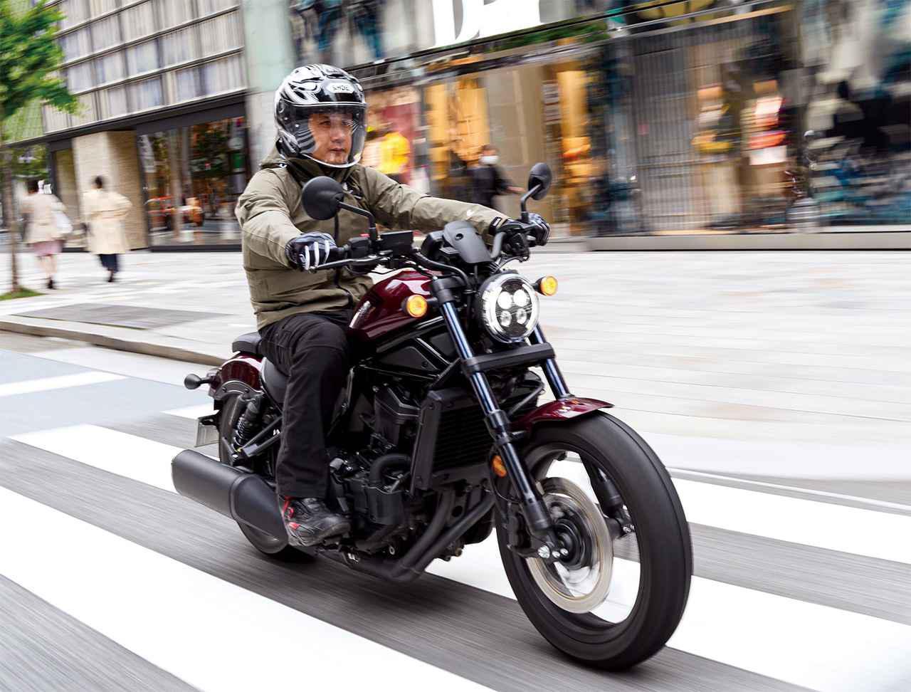 画像: 【ロングラン研究所】ホンダ「レブル1100 DCT」(2021年) - webオートバイ
