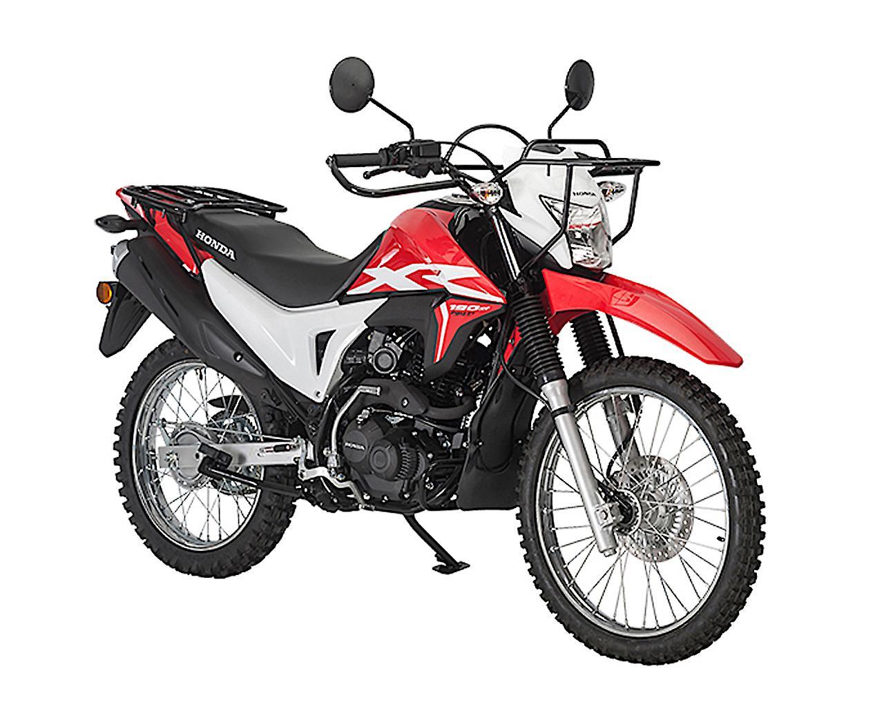 画像: Honda XR190L 総排気量:184.4cc エンジン形式:空冷4スト単気筒 シート高:823mm 車両重量:137kg 写真はオーストラリア仕様