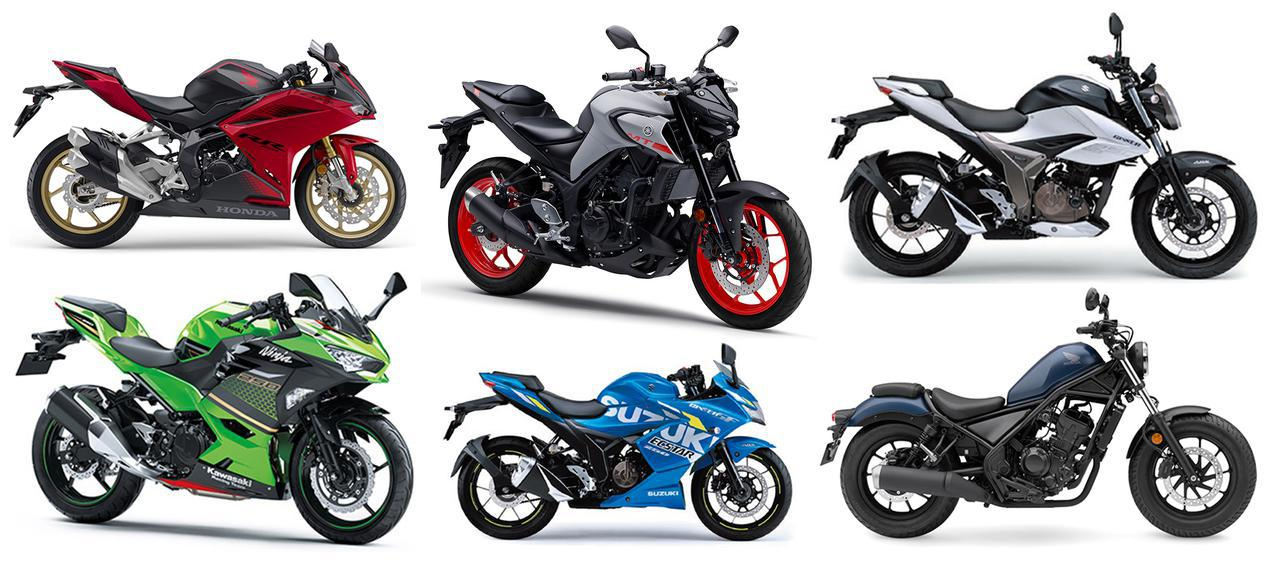 画像: 250ccバイクの人気ランキングTOP10|読者が選んだ2020年のベストモデルを発表! - webオートバイ