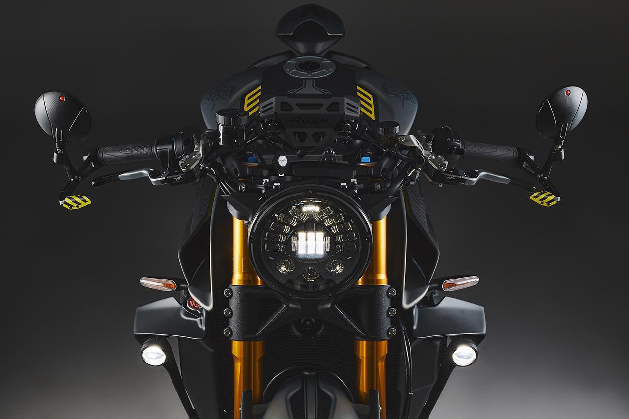 画像: 世界限定300台の究極ネイキッド MVアグスタ「ラッシュ」2021年モデルが登場! - webオートバイ