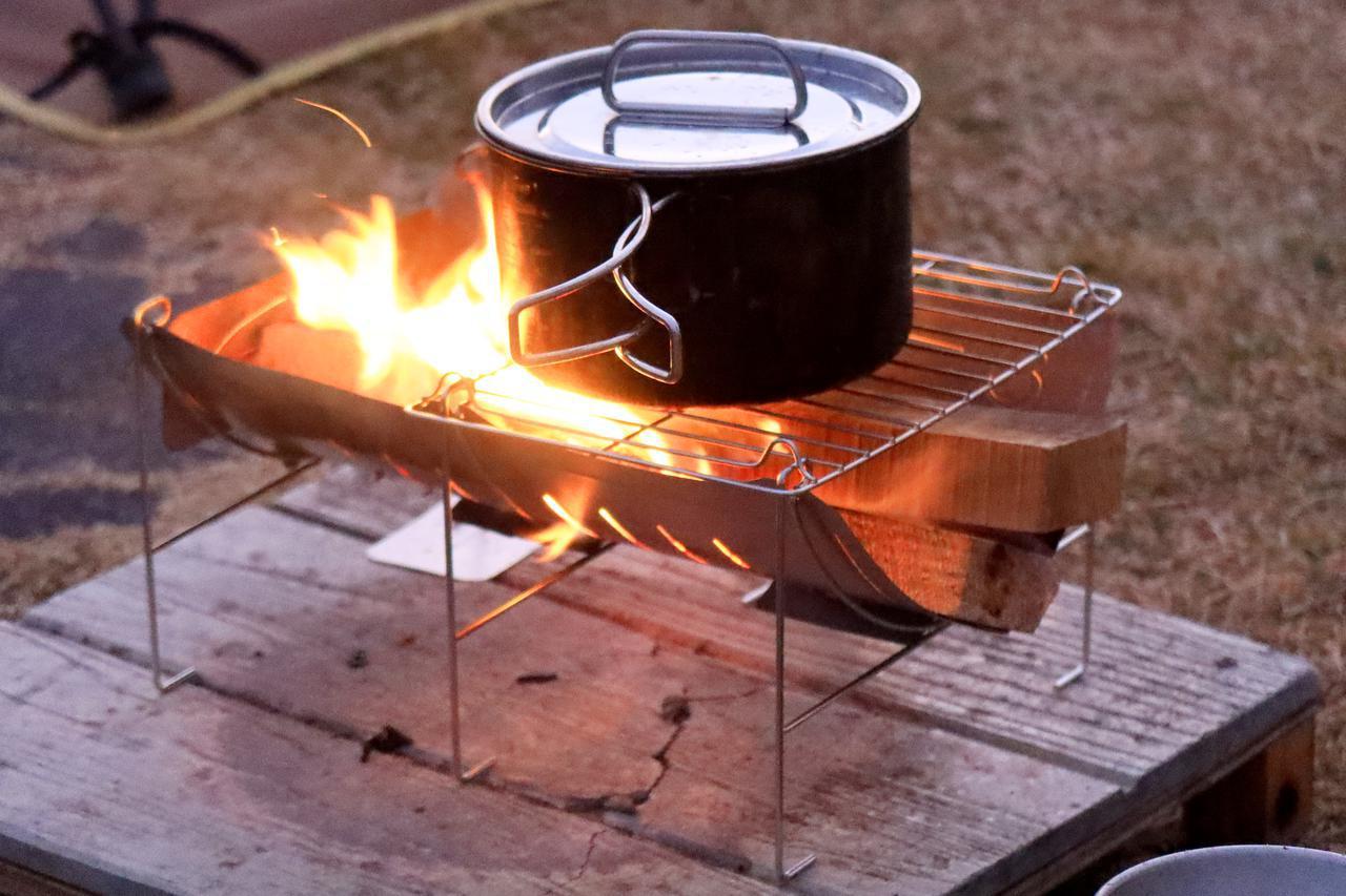 画像: 〈キャンプツーリングにおすすめの焚き火台〉ベルモント「TABI」を使ってみた! - webオートバイ