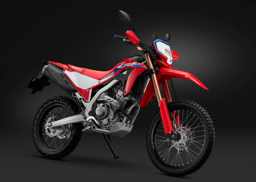 画像: ホンダCRF250L<S>(2021年モデル)