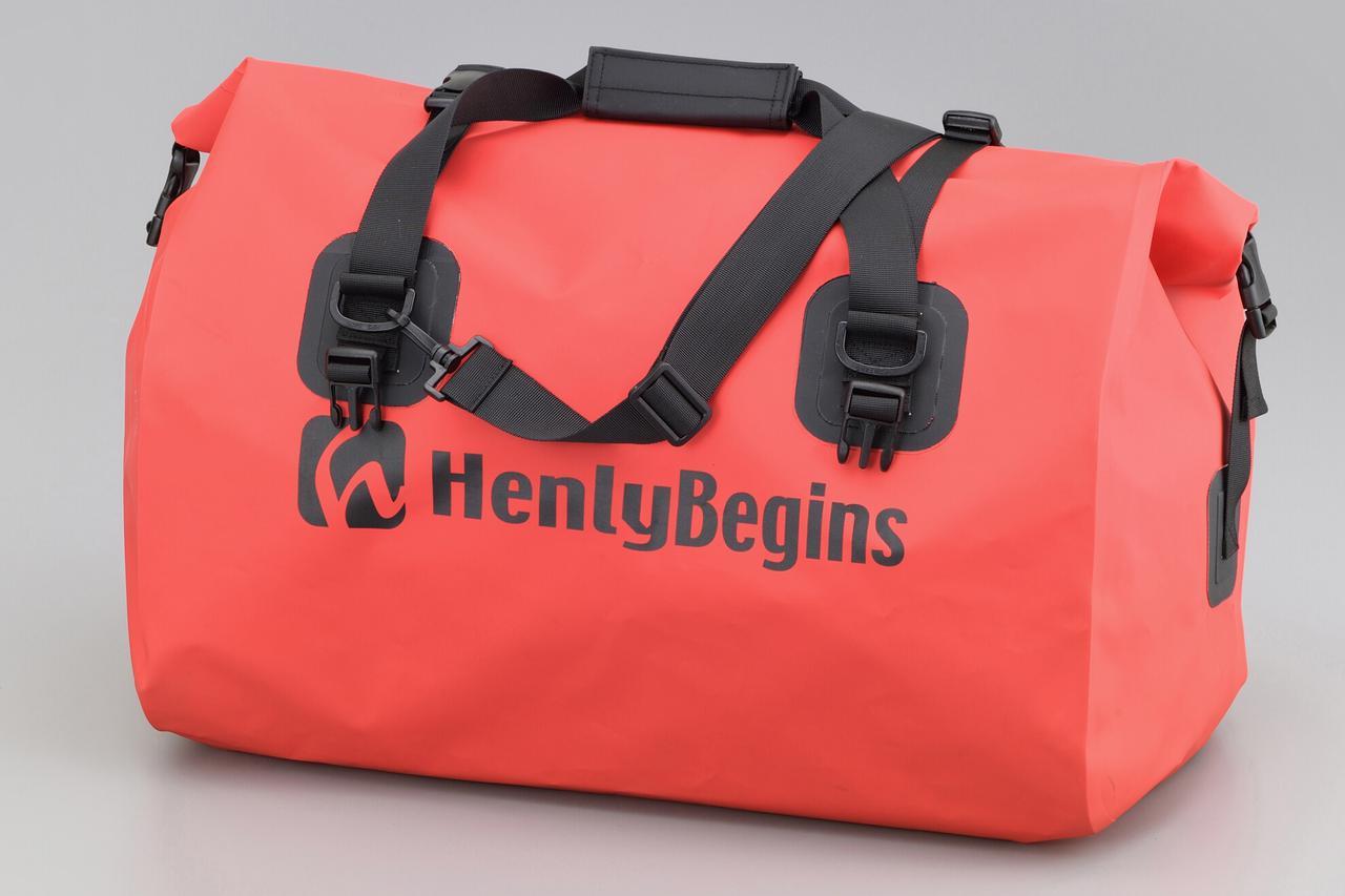 画像13: お手頃価格の防水バッグパックとシートバッグがヘンリービギンズから登場! バイクで使うのにちょうどいいサイズ感と容量が魅力