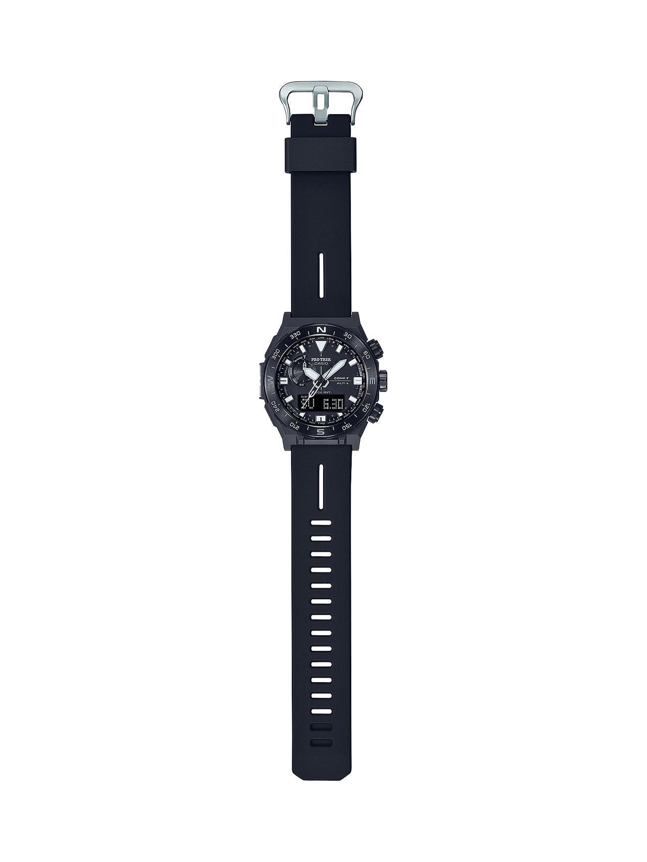 画像4: 方位計測機能に特化したプロトレックの腕時計が新登場! 回転ベゼルを採用、紙の地図との併用を想定した旅するハイテクウォッチ