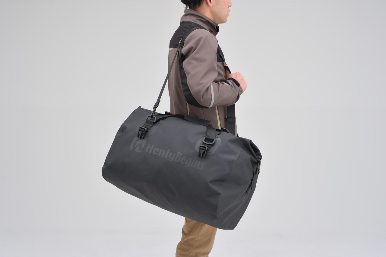 画像10: お手頃価格の防水バッグパックとシートバッグがヘンリービギンズから登場! バイクで使うのにちょうどいいサイズ感と容量が魅力