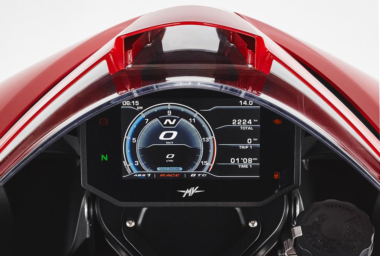 画像2: MVアグスタ「スーパーベローチェ800」2021年モデルの特徴