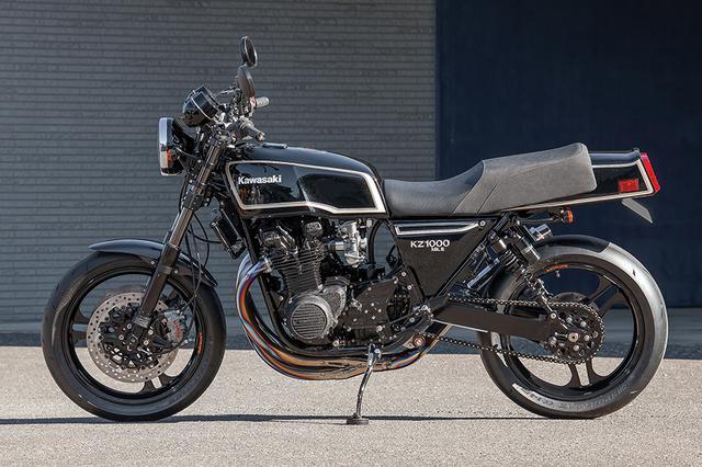 画像: 空冷Zを今のバイク並みに楽しめる作りとして進化